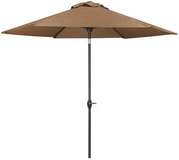 Dan Brown Outdoor Med Umbrella with Base