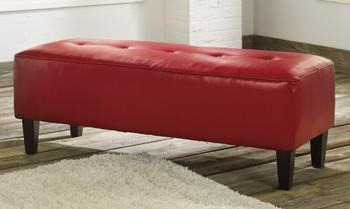 Palo Red Ottoman