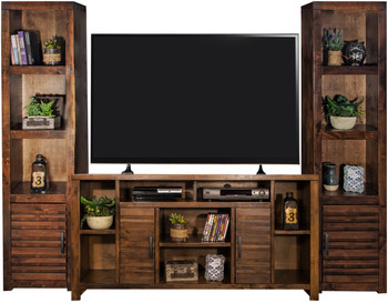 "Chester 64"" 3 Piece Wall Unit"