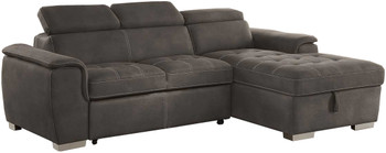 Lanzo Sofa Bed & Storage Sectional