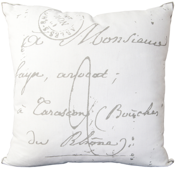 Madelon Cream Designer Pillow