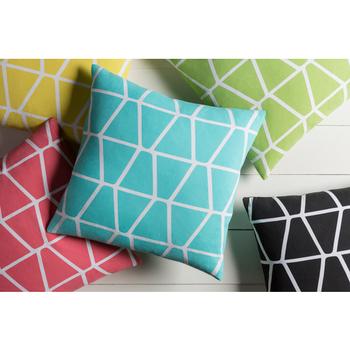 Akim Blue Designer Pillow