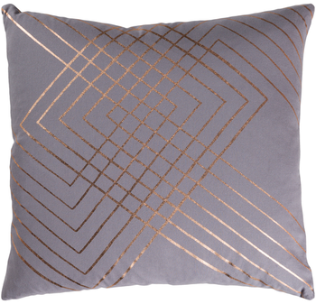 Adwoa Gray Designer Pillow