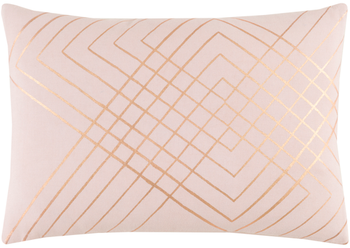 "Adwoa Pink 19"" x 13"" Kidney Pillow"