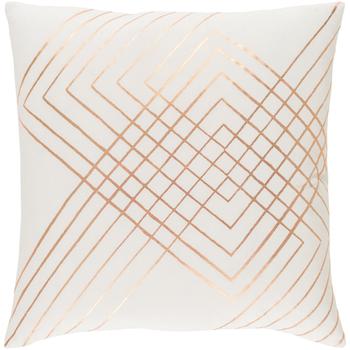 Adwoa Beige Designer Pillow