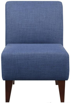 Amie Dark Blue Accent Chair