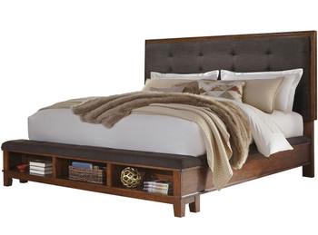 NELA Brown Bedroom Set