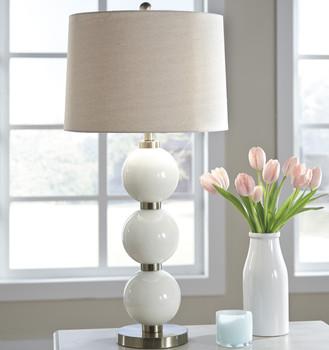 Brienda White Table Lamp
