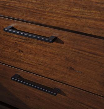 NELA Brown Dresser & Mirror