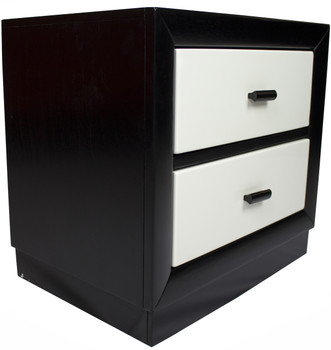 Johnny Black & White Nightstand