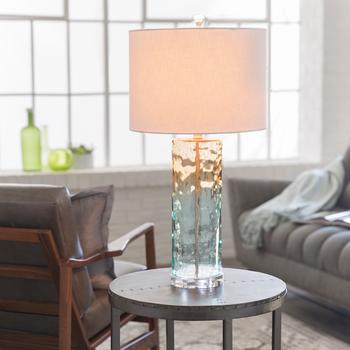 Taya Aqua Camel Table Lamp