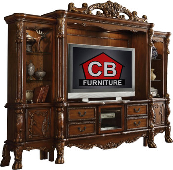 """ACKERLEY 122"""" Wide Cherry Wall Unit"""