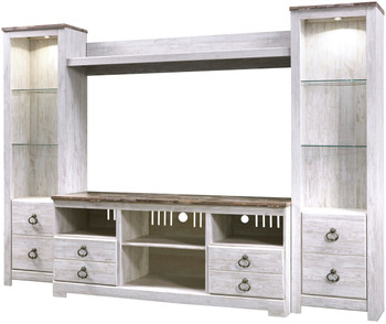 CRESTHILL 4 Piece Wall Unit