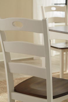 NIRVANA White Dining Chair
