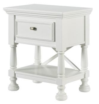Lilet White Nightstand