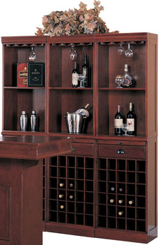 Marvin Wine Wall Unit