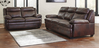Bolade Top-Grain Leather Sofa