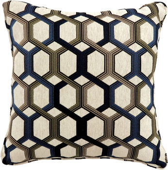 Knap Blue Accent Pillow