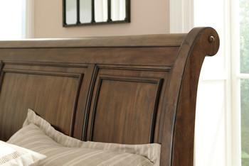 Belton Storage Sleigh Bed