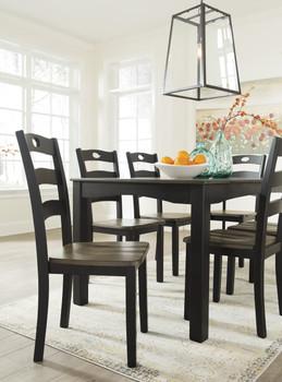 NIRVANA Black Dining Chair
