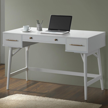 ALI 47'' Wide White Office Desk