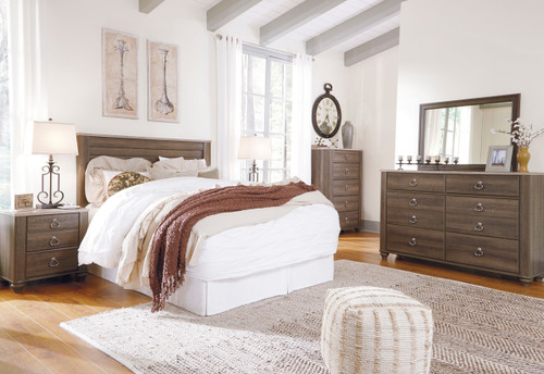 Cresthill Brown Headboard Bedroom