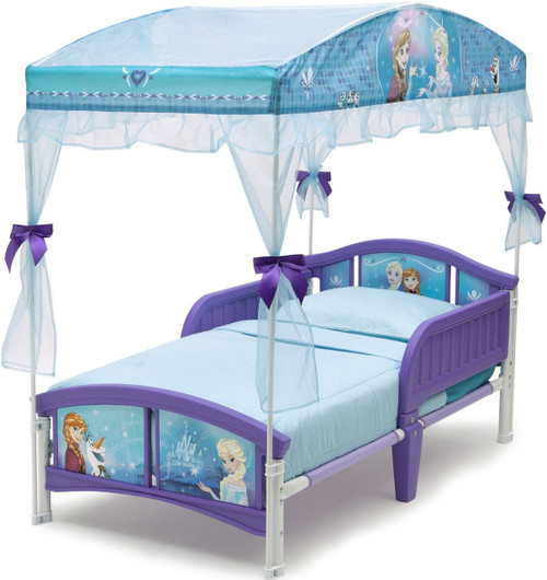 Frozen Canopy Toddler Bed