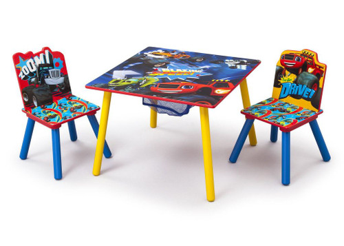 Blaze and the Monster Machines Table & Chair Set with Storage