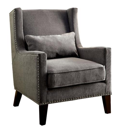 Ayaka Gray Accent Chair