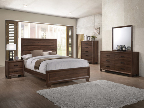 Anthony Medium Brown Bedroom Set