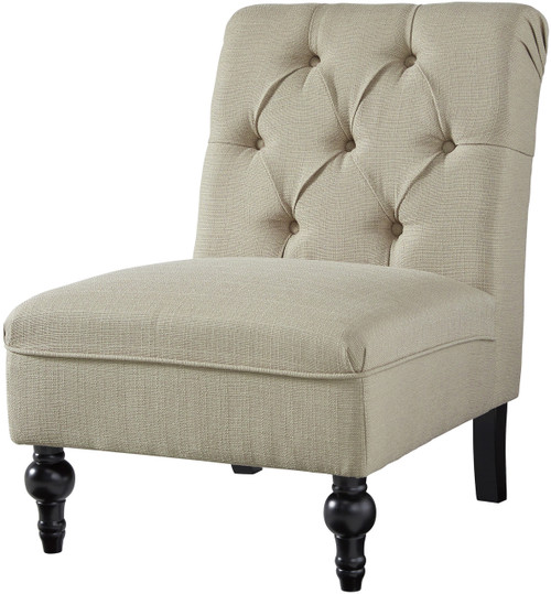 Alejandra Beige Accent Chair