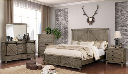 Fort Worth Gray Bedroom