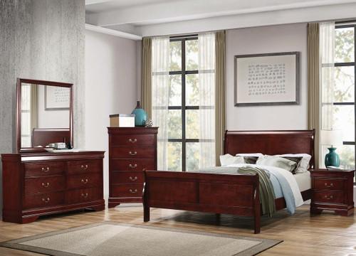 Nimes Cherry Bedroom Set