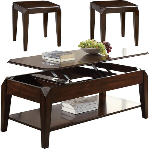Aali Lift Top 3 Piece Table Set