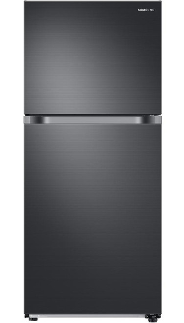 17.6 cu. ft. Top Freezer Refrigerator with FlexZone in Fingerprint Resistant Black Stainless, Energy Star, Ice Maker