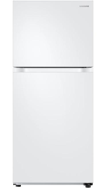 COMET T21 White 17.6 cu. ft. Top Freezer Refrigerator with FlexZone, Energy Star, Ice Maker