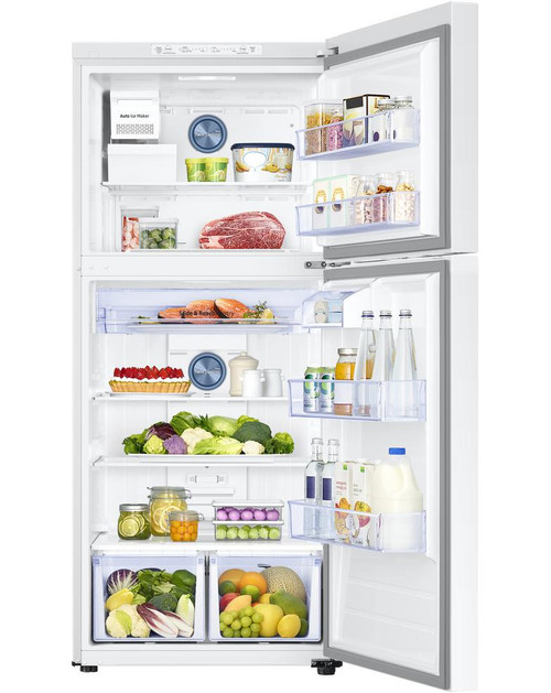 17.6 cu. ft. Top Freezer Refrigerator with FlexZone in White, Energy Star, Ice Maker