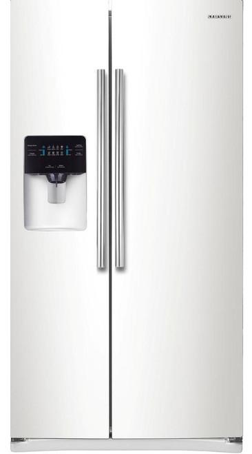 VESTA S21 White 24.5 cu. ft. Side by Side Refrigerator