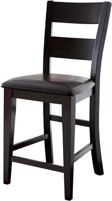 Kurt Dark Brown Counter Height Chair