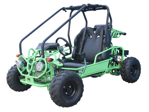 Mini Raptor 110cc Green Kids Go Kart