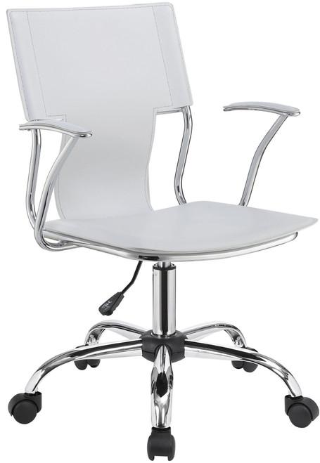 BANKS White Desk Chair