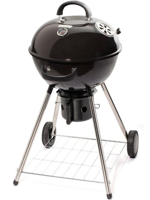 "FIZZLE Black 18"" Kettle Charcoal Grill"