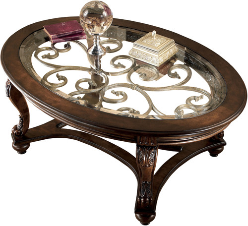 Bourges Oval Coffee Table