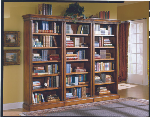 Parker 3-PC Bookcases Cherry  Finish