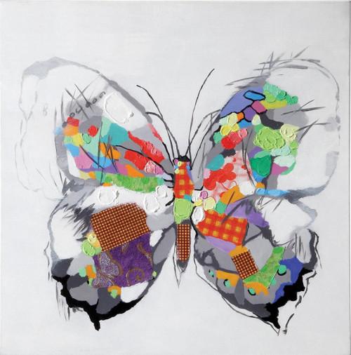 Fly Rainbow Wings Wall Art