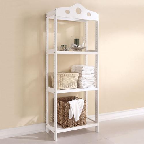 Edythe 3-Shelf Bathroom Rack