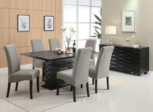Shown with Gray Chairs & Server