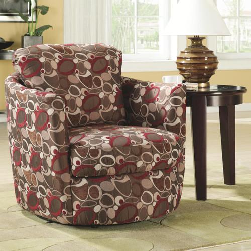 Elsa Oblong Swivel Woven Fabric