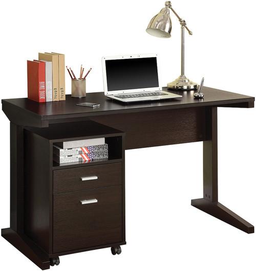 Aidric Desk with File Cabinet