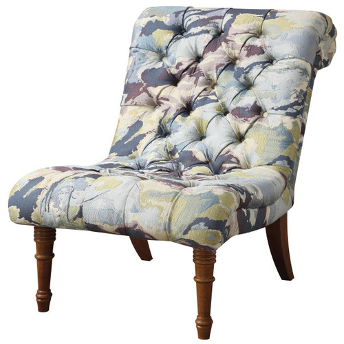 Ariel Watercolor Accent Chair